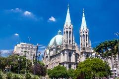 Catedral da Se katedra w Sao PauloCatedral da Se katedrze w Sao Paulo zdjęcia royalty free