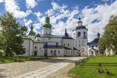 Catedral da suposição com uma torre de sino imagem de stock royalty free