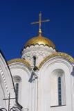 Catedral da suposição em Vladimir, Rússia Fotografia de Stock Royalty Free