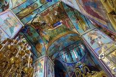 Catedral da suposição, Rússia Imagens de Stock Royalty Free