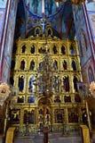 Catedral da suposição, Rússia Imagem de Stock