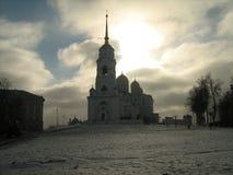 Catedral da suposição, Vladimir imagens de stock