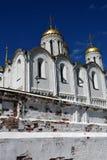 Catedral da suposi??o em Vladimir, R?ssia fotos de stock royalty free