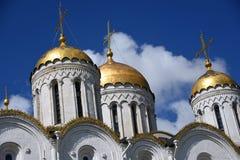 Catedral da suposi??o em Vladimir, R?ssia fotos de stock