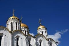 Catedral da suposi??o em Vladimir, R?ssia fotografia de stock royalty free