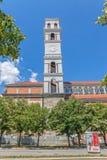 Catedral da torre Blessed Madre Teresa imagem de stock