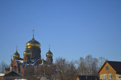 Catedral da trindade foto de stock