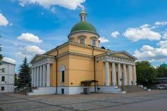 Catedral da trindade de St Daniel Monastery Imagem de Stock