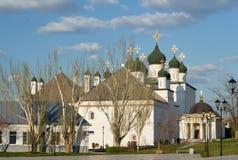 Catedral da trindade no Kremlin de Astracã Imagem de Stock