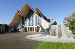 Catedral da trindade santamente, Auckland Imagem de Stock Royalty Free