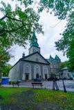 Catedral da trindade santamente, em Cidade de Quebec imagem de stock