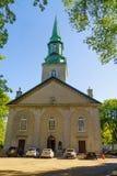 Catedral da trindade santamente, em Cidade de Quebec fotografia de stock royalty free