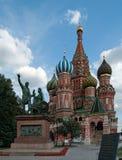 A catedral das manjericões de Saint Fotografia de Stock