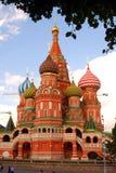 Catedral das manjericões de Saint em Moscou Fotografia de Stock Royalty Free