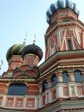 Catedral das manjericões do St - quadrado vermelho de Moscou Foto de Stock Royalty Free