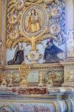 Catedral de圣卡塔琳娜州在果阿旧城,印度 图库摄影