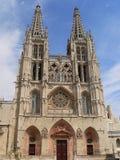 Catedral de圣玛丽亚,布尔戈斯(西班牙 库存照片