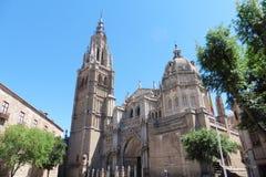 Catedral de圣诞老人MariAaa de托莱多 免版税库存照片