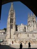 Catedral de布尔戈斯(西班牙) 库存图片