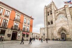 Catedral de Ávila fotografía de archivo