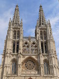 Catedral de Σάντα Μαρία, Burgos (Ισπανία) Στοκ Φωτογραφίες