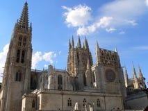 Catedral de Σάντα Μαρία, Burgos (Ισπανία) Στοκ εικόνα με δικαίωμα ελεύθερης χρήσης