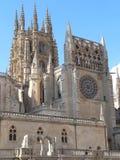 Catedral de Σάντα Μαρία, Burgos (Ισπανία) Στοκ φωτογραφία με δικαίωμα ελεύθερης χρήσης