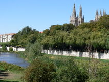 Catedral de Σάντα Μαρία, Burgos (Ισπανία) Στοκ φωτογραφίες με δικαίωμα ελεύθερης χρήσης