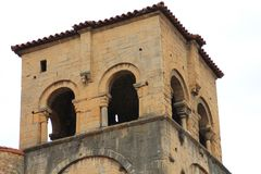 Catedral de Σαν Σαλβαδόρ, Οβηέδο, Ισπανία Στοκ Εικόνα