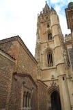 Catedral de Σαν Σαλβαδόρ, Οβηέδο Ισπανία Στοκ εικόνα με δικαίωμα ελεύθερης χρήσης