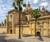 Catedral de Σαν Σαλβαδόρ στοκ εικόνα
