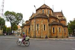 Catedral De Нотр-Дам De Хо Ши Мин, Вьетнам Стоковые Фотографии RF