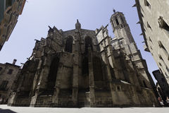 Catedral de巴塞罗那 库存图片