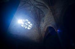 Catedral de普拉森西亚圣玛丽亚  西班牙 免版税库存照片