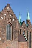 Catedral de Aarhus, Dinamarca Imagen de archivo libre de regalías
