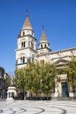 Catedral de Acireale Sicilia Imagenes de archivo