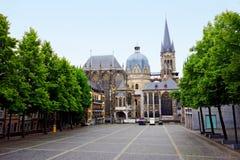Catedral de Aix-la-Chapelle Fotografia de Stock