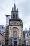 Catedral de Aix-la-Chapelle Imagem de Stock