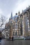 Catedral de Aix-la-Chapelle Foto de Stock