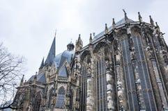 Catedral de Aix-la-Chapelle Imagens de Stock