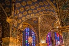 Catedral de Aix-la-Chapelle, Alemanha Imagens de Stock