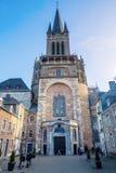 Catedral de Aix-la-Chapelle em Aix-la-Chapelle, Alemanha Imagem de Stock