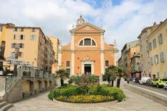 Catedral de Ajacio imagen de archivo