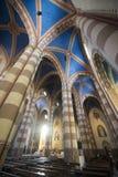 Catedral de Alba (Cuneo, Italia), interior Foto de archivo libre de regalías