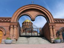 Catedral de Alexander Nevskii Foto de Stock