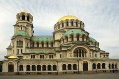 Catedral de Alexander Nevsky Foto de archivo libre de regalías