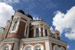 Catedral de Alexander Nevsky Foto de archivo