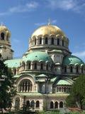 Catedral de Alexander Nevsky del santo en Sofía, Bulgaria Foto de archivo libre de regalías