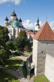 Catedral de Alexander Nevsky, Tallinn Imágenes de archivo libres de regalías