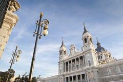 Catedral de Almudena Foto de archivo libre de regalías